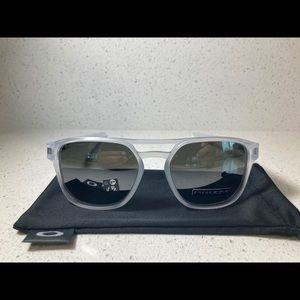 Oakley Latch Beta Matte Clear Prizm Sunglasses